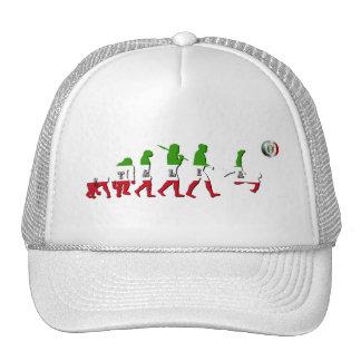 Evolution of Italian Football Italia Calcio gifts Trucker Hat