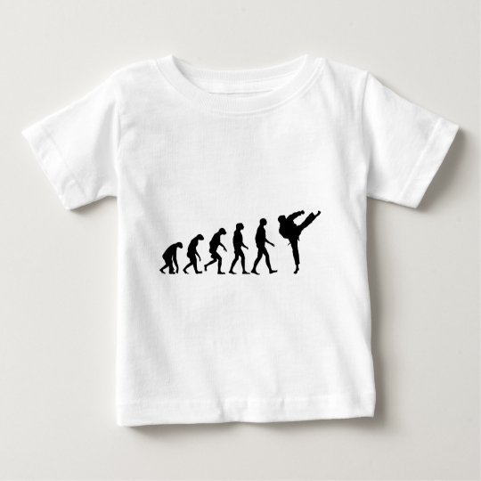 Evolution of Karate Baby T-Shirt