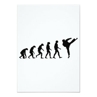 Evolution of Karate Card