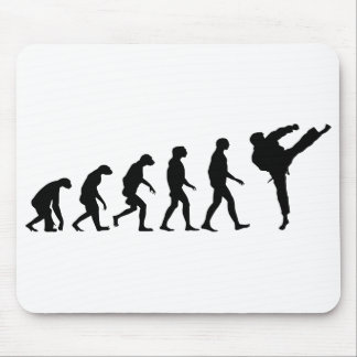 Evolution of Karate Mouse Pad