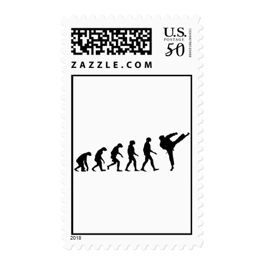 Evolution of Karate Postage