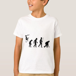 Evolution of Lawn Bowls T-Shirt