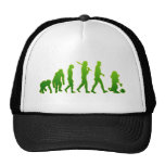 Evolution of leprechauns shirts & gifts mesh hat
