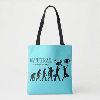 Evolution Of Liberated Man Tote Bag