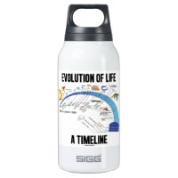 Evolution Of Life A Timeline (Biology) 10 Oz Insulated SIGG Thermos Water Bottle