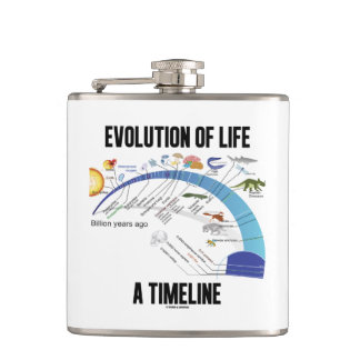 Evolution Of Life A Timeline Biology Hip Flask