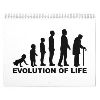 Evolution of Life Calendars
