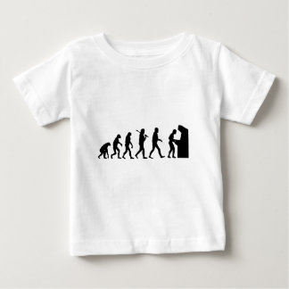 Evolution of Man Baby T-Shirt
