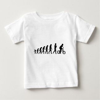 Evolution of Man BMX Baby T-Shirt