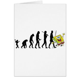 Evolution of Man Greeting Card
