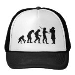 Evolution of Man & Fife Hat