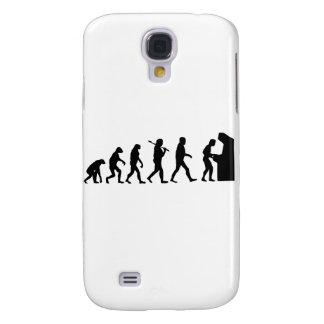 Evolution of Man Galaxy S4 Case