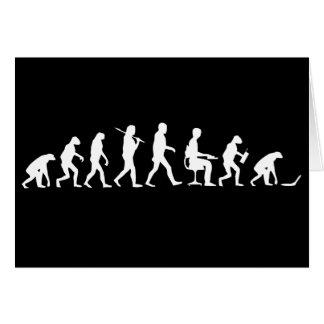 Evolution of Man Laptop Cards
