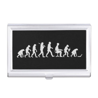 Evolution of Man Laptop Case For Business Cards