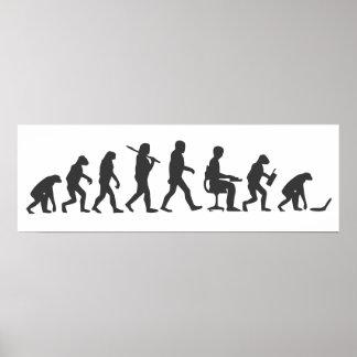 Evolution of Man Laptop Poster