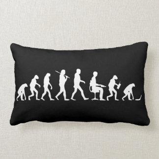 Evolution of Man Laptop Throw Pillows