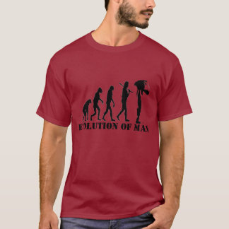 EVOLUTION OF MAN PLAYERA