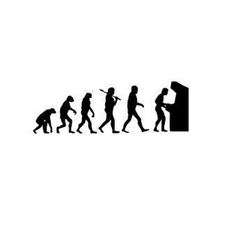 Evolution of Man Post Cards