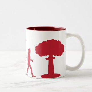 Evolution of Man (Red) Mug