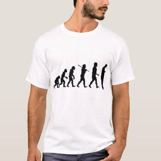 Evolution of Man Texting T-Shirt