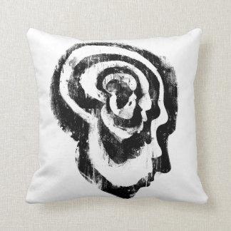 Evolution of Man (White) Throw Pillows