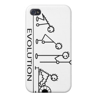 Evolution of man with rowing iPhone 4/4S cases