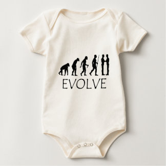 Evolution of Mankind Baby Bodysuit