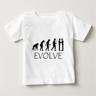 Evolution of Mankind Baby T-Shirt