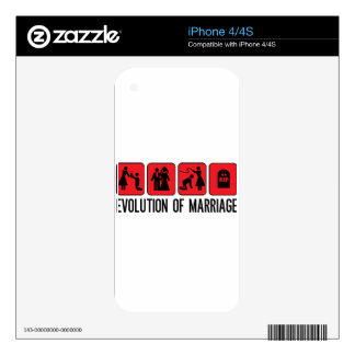 Evolution of Marriage Skins For iPhone 4S