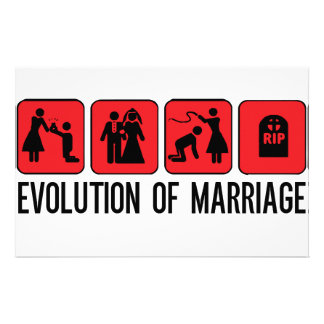 Evolution of Marriage Stationery