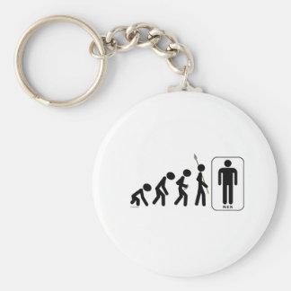 Evolution of Men Key Chains