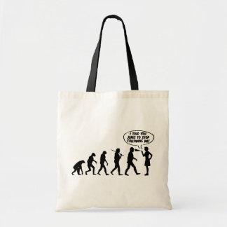 Evolution Of Men & Women Pepper Spray Canvas Bag