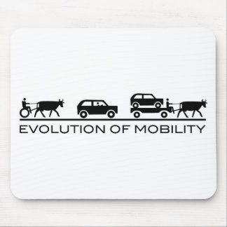 evolution of mobility mousepad