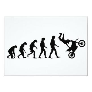 Evolution of Motocross Card