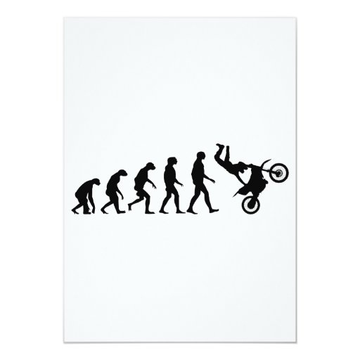 Evolution of Motocross Personalized Invites