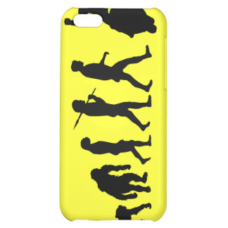 Evolution of Motorcycling bikers iPhone case Case For iPhone 5C