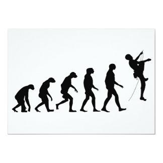 Evolution of Mountain Climbing Card