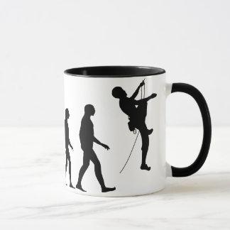 Evolution of Mountain Climbing Mug