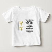 Evolution Of My Life Phyltc Grdlism Punctd Equlbra Shirts