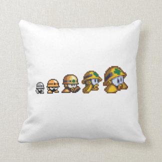 Evolution of Neo-metol 2 Throw Pillow