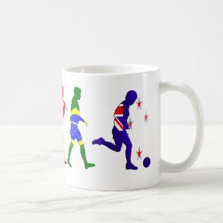 Evolution of New Zealand Soccer football Coffee Mug