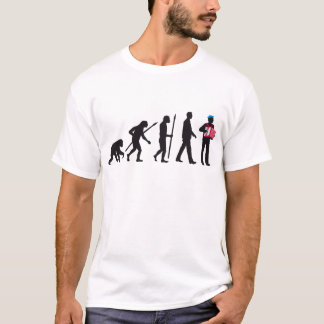 evolution OF one accordion more player sailor T-Shirt