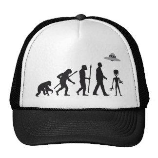 evolution OF one alien Trucker Hat