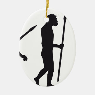 evolution OF one basketball more player Ceramic Ornament