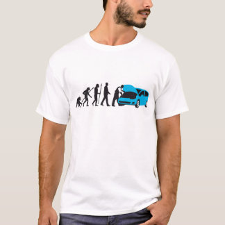 evolution OF one car car mechanic T-Shirt