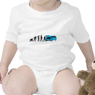 evolution OF one car car mechanic Tee Shirts