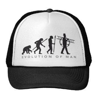 evolution OF one chimney sweeps Trucker Hat