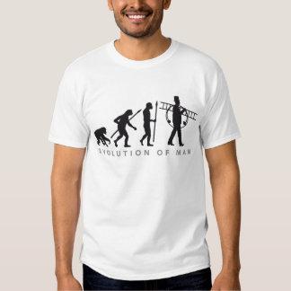 evolution OF one chimney sweeps T Shirt