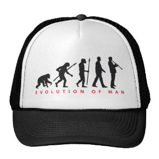 evolution OF one Clarinet more player Trucker Hat
