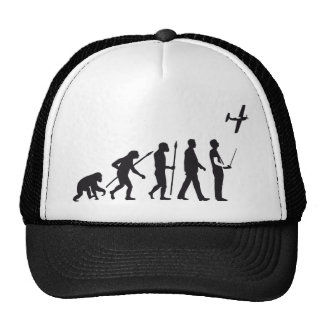 evolution OF one controling model airplane Hats